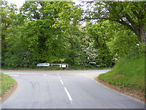 TM4381 : B1124 Halesworth Road by Adrian Cable
