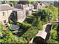 NT2671 : Back gardens of Queen's Crescent, Edinburgh by David Hawgood