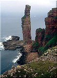 HY1700 : Old Man of Hoy from the south by Alan Reid