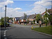 SO9096 : North end of Sandringham Road, Upper Penn by Richard Vince