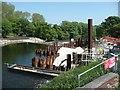 SE1720 : Weir improvement works at Cooper Bridge by Humphrey Bolton