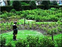 TQ3005 : Rose garden, Preston Park, Brighton by nick macneill