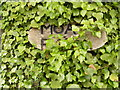 TM4884 : Moat Farm sign by Geographer