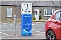 J4552 : E-car charge point, Crossgar by Albert Bridge