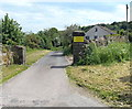 SO2414 : Entrance drive to Castle Narrowboats, Gilwern by Jaggery