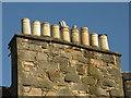 NT2473 : Edinburgh chimneys by Dave Pickersgill