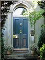 NT2671 : Front door, no.2 Mayfield Gardens by Robin Stott