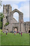 SE2768 : Fountains Abbey by Philip Halling