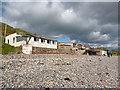 NX9807 : Beach Houses by Anne Burgess