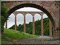 NT5734 : Leaderfoot Viaduct by Alan Murray-Rust