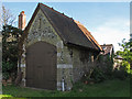TM4679 : Former coach house, Wangford Churchyard (listed building) by Roger Jones