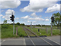 NZ2690 : Railway line at Potland Crossing by Alan Murray-Rust