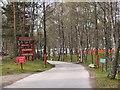 NH8508 : Entrance to Dalraddy Caravan Park by Jim Barton