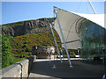 NT2673 : Turret and canopy, Our Dynamic Earth by Robin Stott