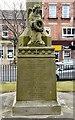 SD3347 : Fleetwood War Memorial: North side by Gerald England