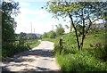NO6992 : Bridge over a burn near Blackness farm by Stanley Howe