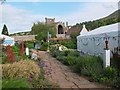 NT5434 : Borders Book Festival, Harmony Garden, Melrose by Jim Barton