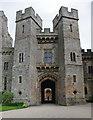 NZ1221 : Nevill Gateway, Raby Castle by Ian Taylor