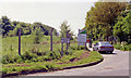 SP5240 : Site of Farthinghoe station, 1992 by Ben Brooksbank
