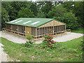 SE6083 : New aviary, ICBP, Duncombe Park by Pauline E