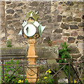NT2673 : Multi-faceted sundial, courtyard of Huntly House by Robin Stott