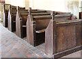 SP2005 : St Michael & St Martin, Eastleach Martin - Pews by John Salmon