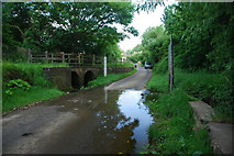 SP7433 : Ford at Thornborough by John Walton