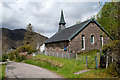 NG8826 : Church at Dornie by Trevor Littlewood