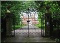 SJ4452 : Entrance to Stretton Hall by Jeff Buck