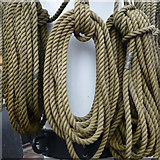 S7127 : Ropes at the foot of the mainmast by Charlie Doolally