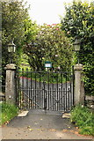 SD3186 : Entrance to Colton Churchyard by Rob Noble