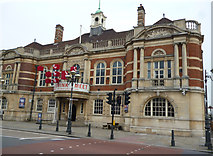 TQ2775 : Battersea Town Hall, now Arts Centre by Dr Neil Clifton