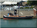 SU4111 : Steam Tug Challenge, Southampton by Chris Allen