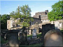 NT2674 : The back of St Andrew's House from Old Calton Burial Ground by Robin Stott