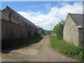 NU0740 : Derelict range of buildings at Fenwick Granary by Graham Robson