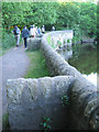 NT2676 : Buttressed wall to the Water of Leith near Keddie Gardens by Robin Stott