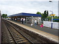 NT2791 : On The Fife Circle : Kirkcaldy Station by Richard West