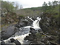 NH4458 : Falls of Rogie from the south by M J Richardson