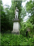 TQ3386 : Monument to Isaac Watts in Abney Park Cemetery by Marathon
