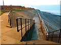 TA3328 : Withernsea Promenade at Dusk by Andy Beecroft