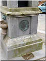 NS9981 : Jubilee Fountain, Bo'ness (detail) by Alan Murray-Rust