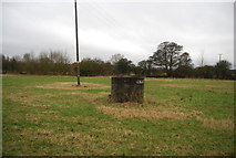 TL4311 : Raised manhole by N Chadwick