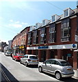 SO0451 : Barclays Bank, Builth Wells by Jaggery