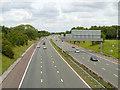 SJ6884 : M56 Motorway (East) by David Dixon