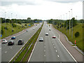 SJ6784 : M56 near Junction 9 by David Dixon