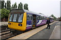 SE4225 : DMU in Castleford Station on the slow Leeds to Sheffield service by Roger Templeman