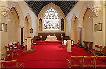 TQ3084 : St Andrew, Thornhill Square, Barnsbury - Chancel by John Salmon