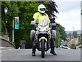 H4572 : Police escort, Omagh by Kenneth  Allen