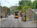 SK3454 : Crich Tramway Village, Tramway Street by David Dixon