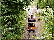 SK3455 : Tramway near Wakebridge by David Dixon
